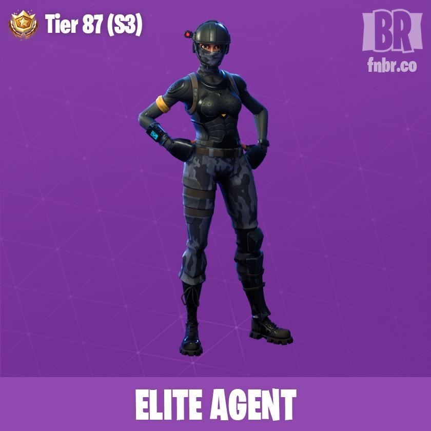 Skin Agente Elite Fornite Battle Royale