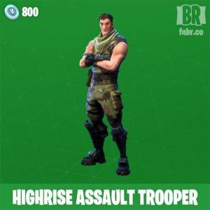 Alto asalto soldado (Poco comun)