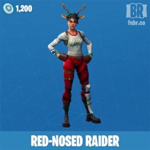 Asaltante nariz roja (Rara)