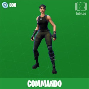 Comando (Poco comun)
