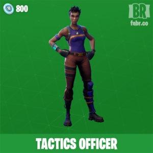 Oficial de tacticas (Poco comun)