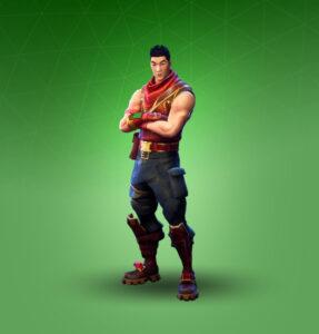 Skin Explorador Escarlata  (Crimson Scout)