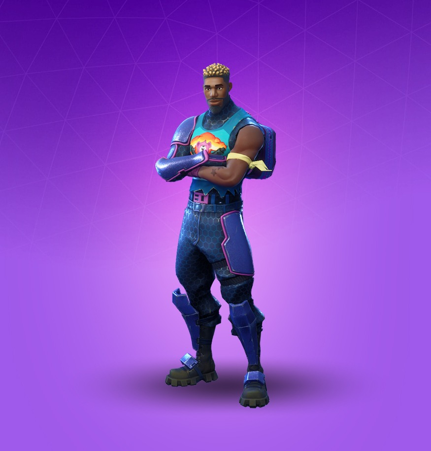 Skin artillero Brillante de Fortnite