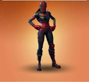 skin dama roja fortnite