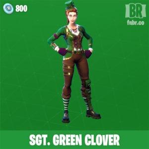 Trebol verde (Poco comun)