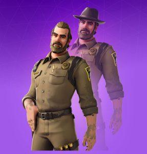 Skin Jefe Hopper (Chief Hooper)