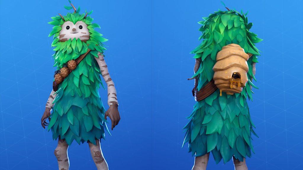 Skin Bush Ranger (Front - Back)