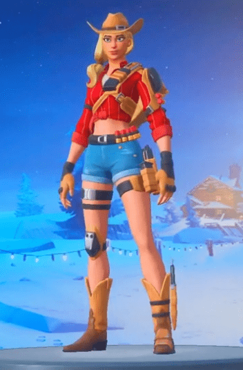Skin Cuatrera de Fortnite
