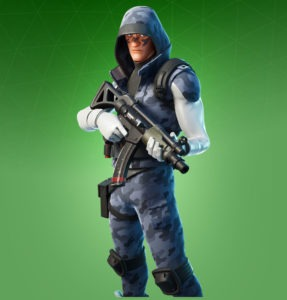 Skin Artic Intel (Fortnite Chapter 2)