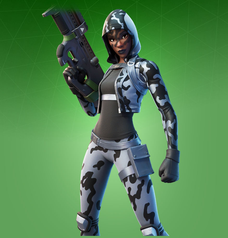 Skin Snow Sniper (Fortnite)
