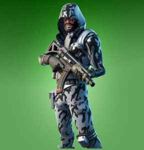 Skin Snow Striker (Fortnite)