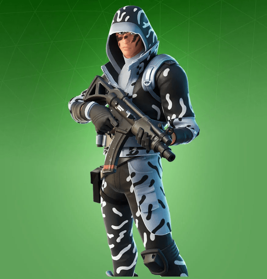 Skin Ice Stalker (Fortnite Chapter 2)