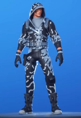 Skin Acechador Helado (Fortnite Capitulo 2)