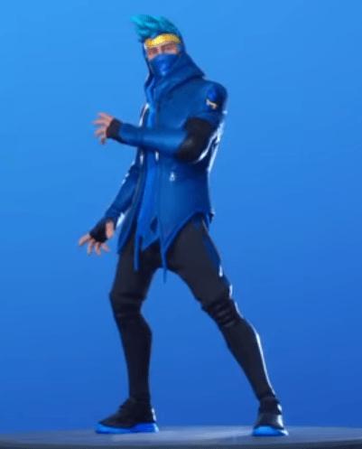 Skin Ninja (Rostro tapado y con capucha)