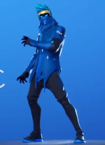 Skin Ninja Sombrio (fortnite)