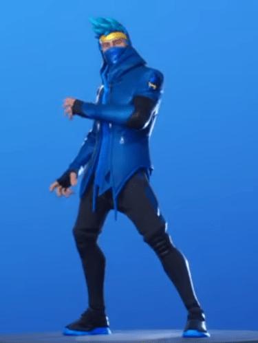 Skin Ninja (Rostro tapado)
