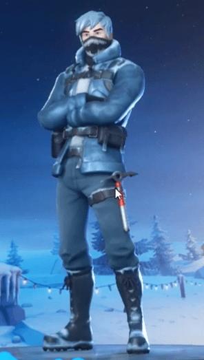 Snow Patroller de Fortnite