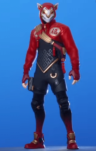 Skin Escurridizo de Fortnite