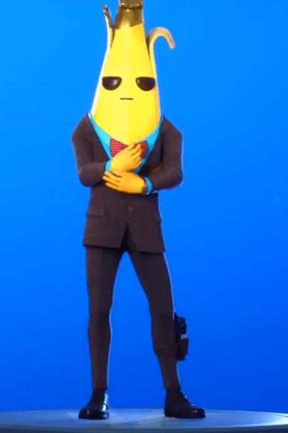 Skin Agent (Golden Peely)