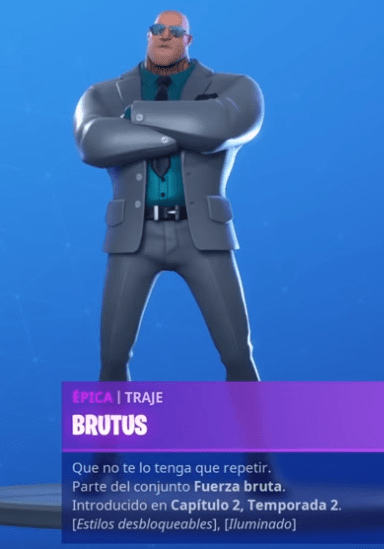 Skin Brutus Fortnite