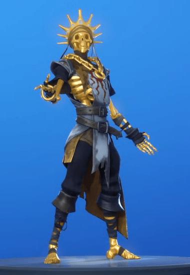 Skin Oro (Dorado)