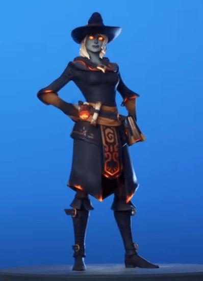 Skin Elmira (Fire Style)