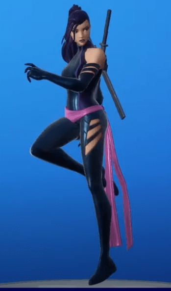 New Skin Psylocke (X force)