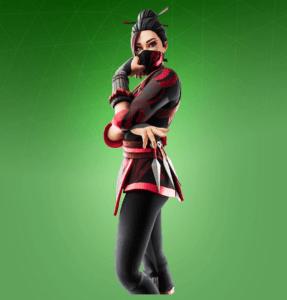 Skin Red Jade