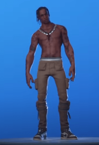 New Skin Travis Scott