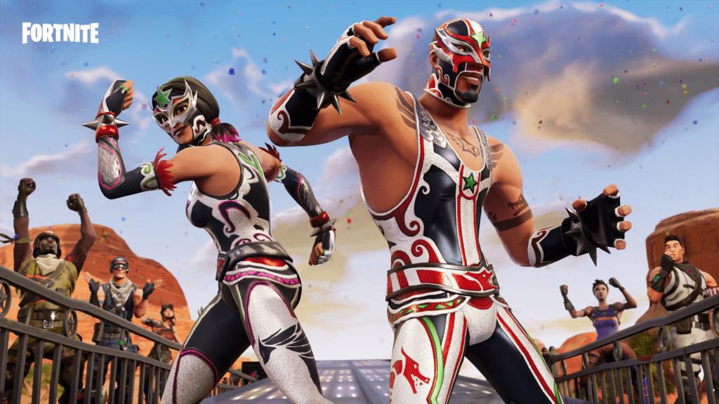 Los Luchadores de Fortnite