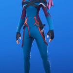 Skin Vix sin capucha (Azul)