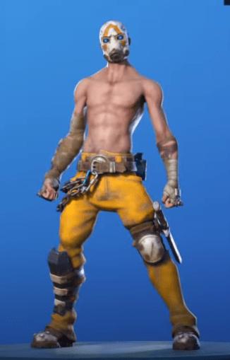 Skin Bandido Psicópata