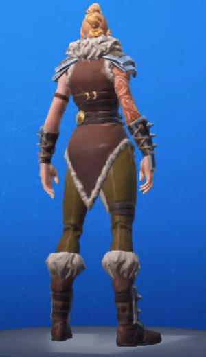 Skin Cazadora (back)
