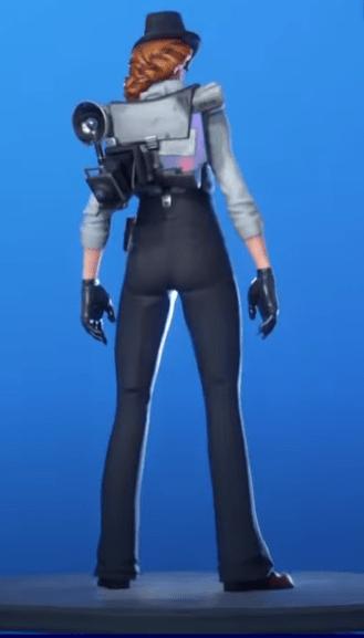 Skin Investigadora (Back)