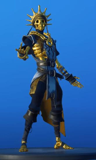 Skin Oro (Sin brillo)
