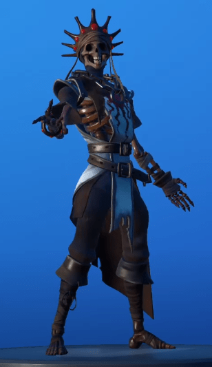skin oro (Rey Calavera)
