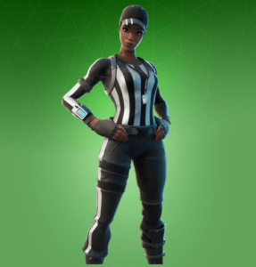 Skin Anotadora Avezada (End Zone Expert)