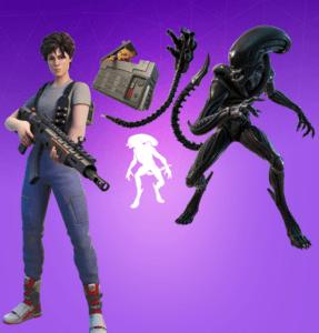 Paquete Ripley y Xenomorfo (Alien)