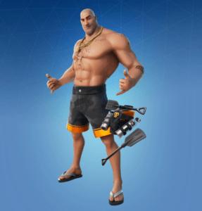Skin Brutus Bañista (Beach Brutus)