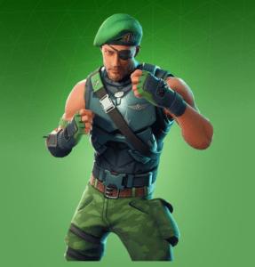 Skin Boina Verde (Garrison)