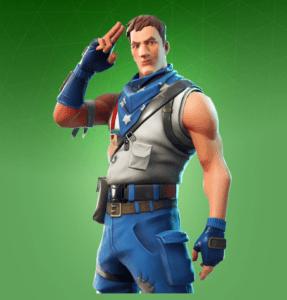 Skin Militar Estrellado (Star-Spangled Trooper)