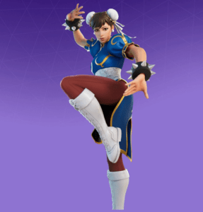 Skin Chun-Li (Street Fighter)