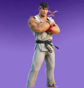 Skin Ryu (Street Fighter)